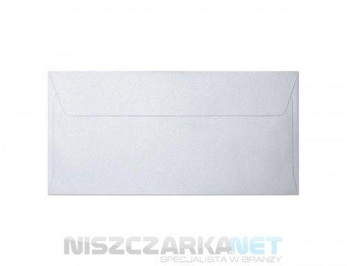 Koperta / koperty ozdobne DL - MILLENIUM DIAMENTOWA BIEL opk 10szt 120g/m2
