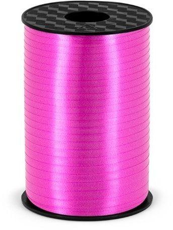 Wstążka plastikowa do balonów fuksjowa 5mm 225m PRP5-080