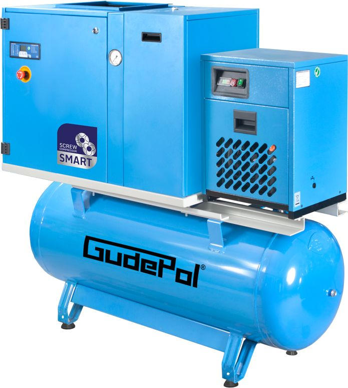 Kompresor śrubowy GudePol GD-SMART 7,5/13/270/15-VT 2021
