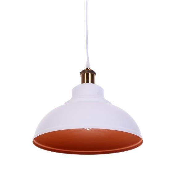 Lumina Deco Boggi loftowa biała lampa wisząca