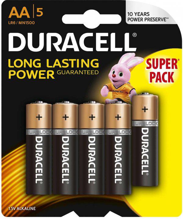 Baterie AA LR6 DURACELL Basic (5 szt.)