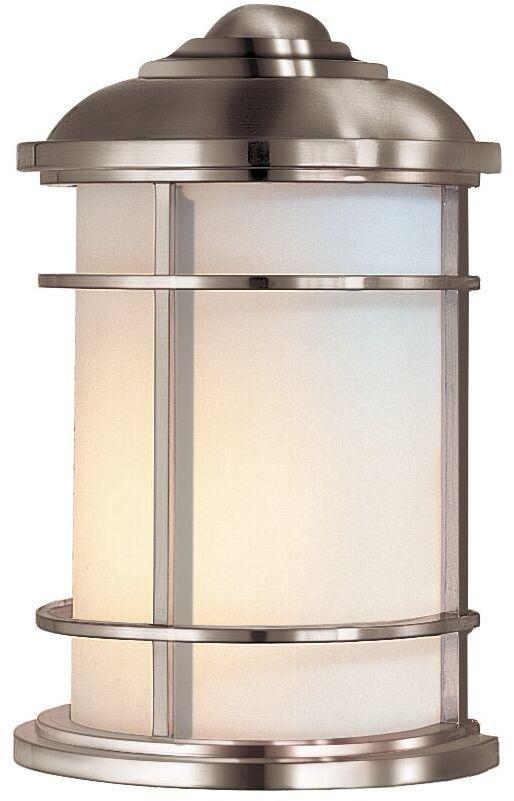 Kinkiet Lighthouse FE/LIGHTHOUSE/7 Feiss nowoczesna oprawa ścienna w kolorze szczotkowanej stali