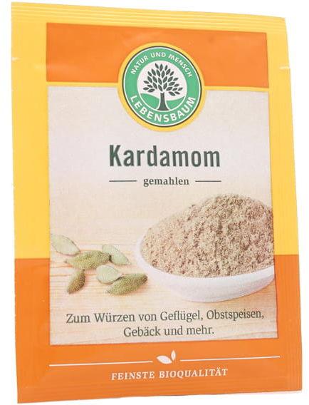 Kardamon mielony BIO - Lebensbaum - 10g