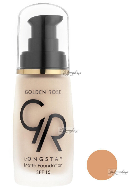 Golden Rose - LONGSTAY MATTE FOUNDATION - Długotrwały, matujący podkład do twarzy - P-GLM - 08