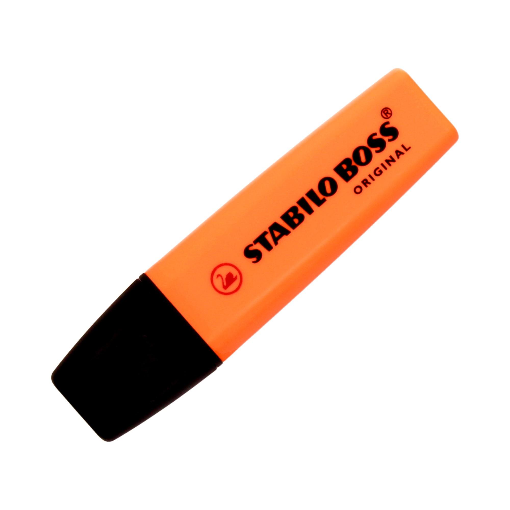 Zakreślacz pomarańczowy Boss Stabilo 70/54