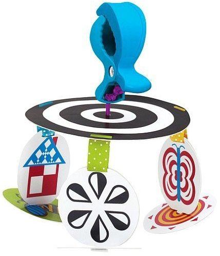 Karuzela nad łóżeczko, do wózka, Wimmer-Ferguson, 211590-Manhattan Toy, zabawki dla niemolaków