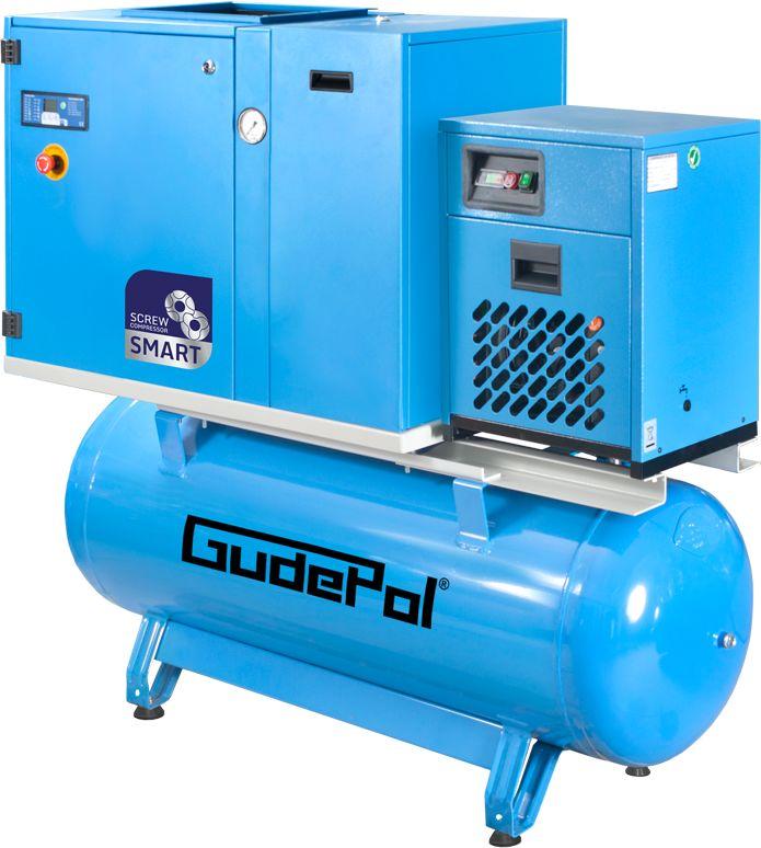 Kompresor śrubowy GudePol GD-SMART 7,5/13/500/15-VT 2021