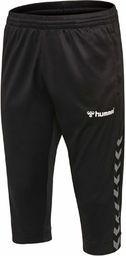 Hummel HmlAuthentic spodnie męskie 3/4 czarny czarny/biały S