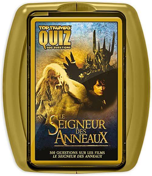 Winning Moves WM00384-FRE-6 Quiz LE SEIGNEUR firmy AnneAUX Wybierz połowę pierścionków z wersji francuskiej