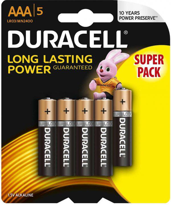 Baterie AAA LR03 DURACELL Basic (5 szt.)