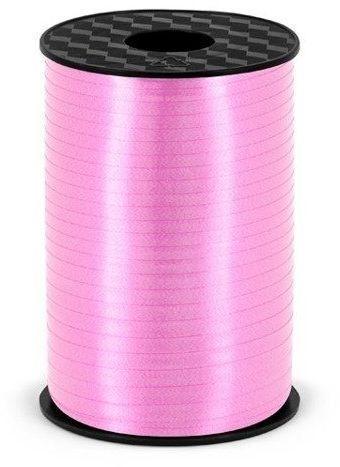 Wstążka plastikowa do balonów j. różowa 5mm 225m PRP5-081J