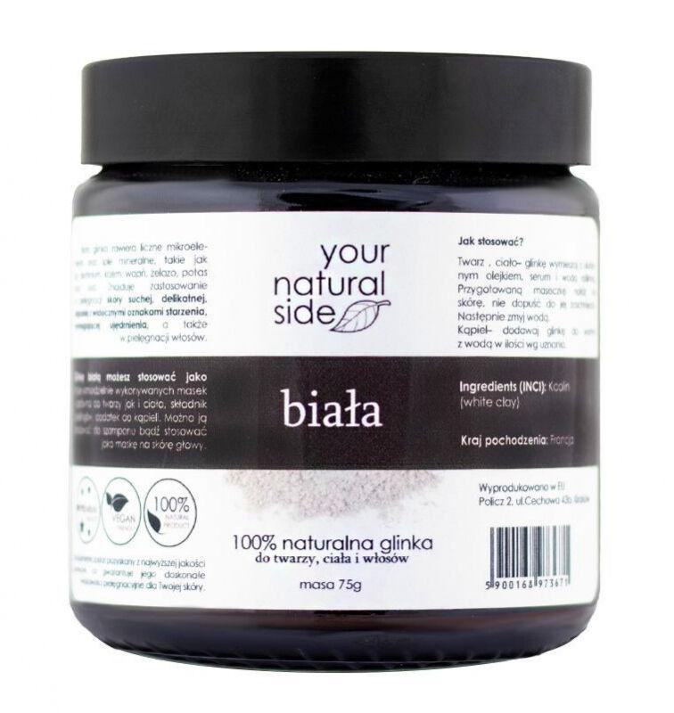 Your Natural Side - 100% naturalna biała glinka - 75g