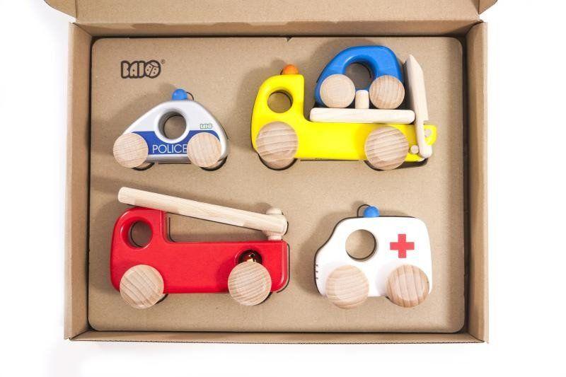 Samochodziki dla dzieci Ratunkowy Kwintet 41110Z-Bajo, zabawki dla chłopców