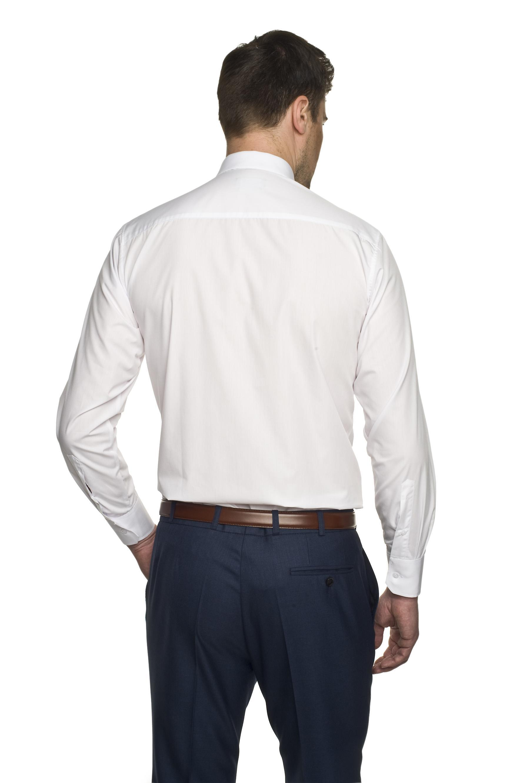 koszula versone 9001 długi rękaw custom fit biały