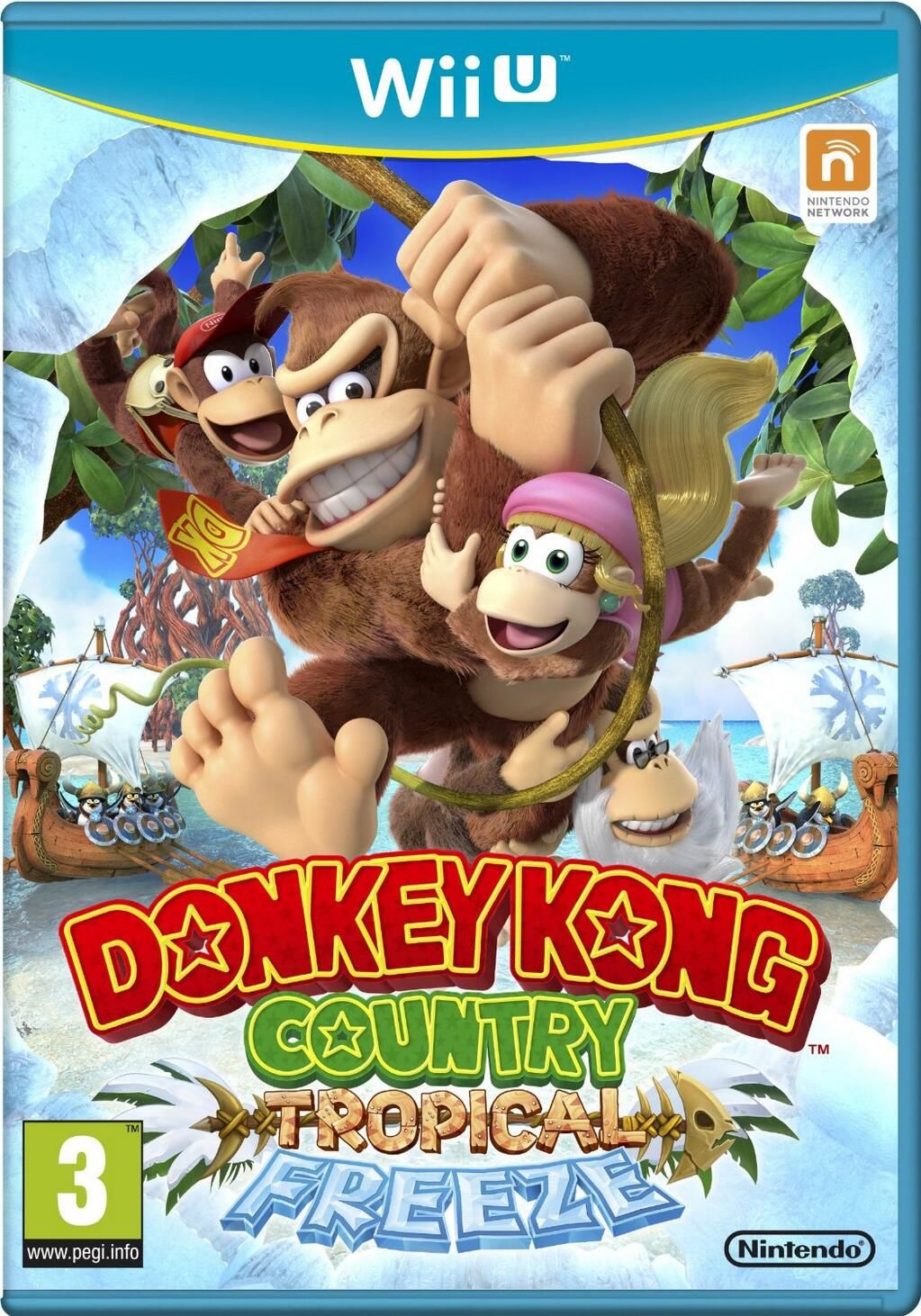 Gra Donkey Kong Country: Tropical Freeze (WiiU)