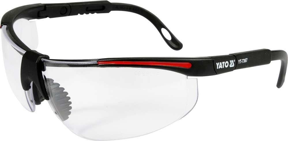 Okulary ochronne bezbarwne Yato YT-7367 - ZYSKAJ RABAT 30 ZŁ