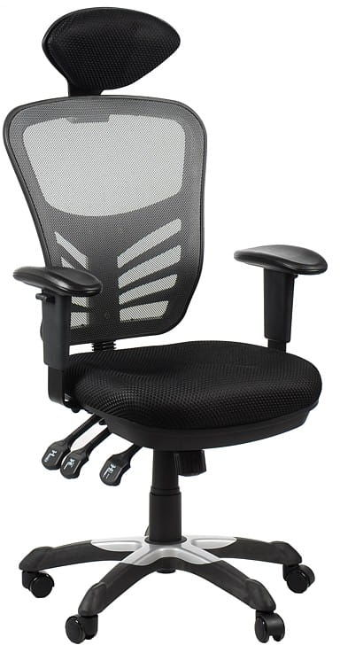 Fotel biurowy gabinetowy HG-0001H/SZARY krzesło biurowe obrotowe
