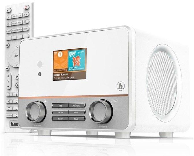 RADIO INTERNETOWE HAMA IR115MS WIFI USB SPOTIFY BIAŁE
