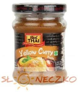 Żółta pasta curry 227g Real Thai