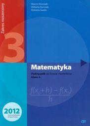 Matematyka podręcznik dla klasy 3 liceum i technikum zakres rozszerzony mar3 563/3/2014 ZAKŁADKA DO KSIĄŻEK GRATIS DO KAŻDEGO ZAMÓWIENIA