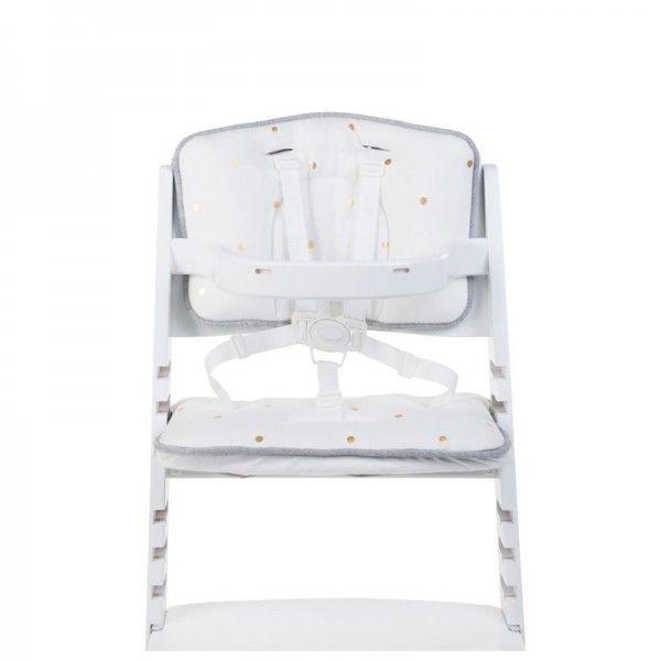 Childhome - Ochraniacz - Poduszka do Krzesła Jersey Złote Kropki