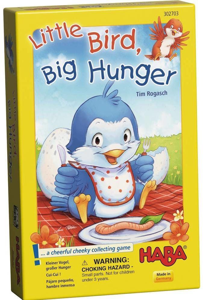 Gra dla dzieci Głodny pisklak HB302703-Haba, zabawy edukacyjne