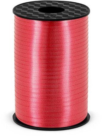 Wstążka plastikowa do balonów czerwona 5mm 225m PRP5-007