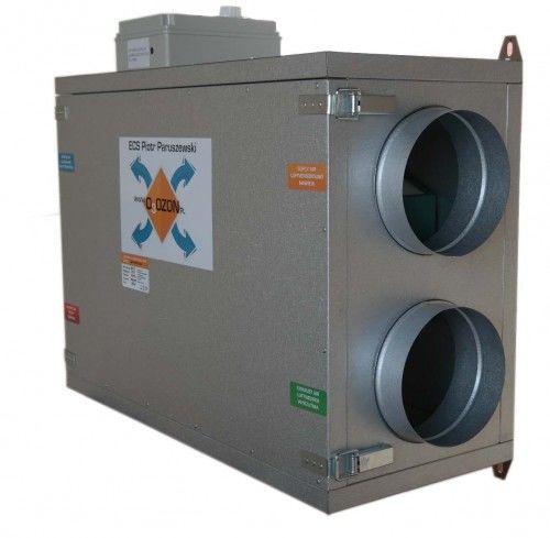 Centrala wentylacyjna 360/200 jon16 Rekuperator + Jonizator + Sterownik, Przeciwprądowy