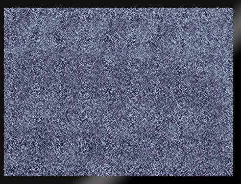 ID mat t miękki, włókna syntetyczne, niebieski, 60 x 80 x 0,9 cm