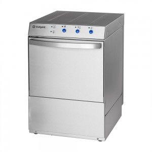 Zmywarka do naczyń z dozownikiem płynu myjącego i pompą spustową 500x500 Stalgast 801507
