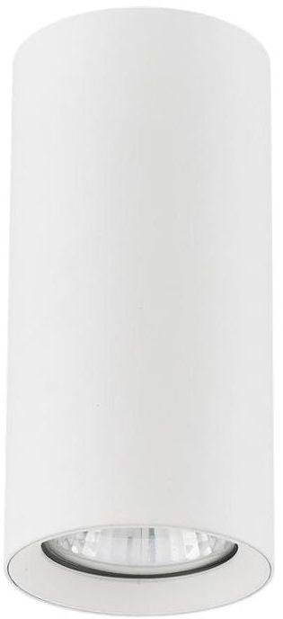 Oprawa natynkowa MANACOR IP20 wys. 13 cm śr. 6 cm biała GU10 LIGHT PRESTIGE