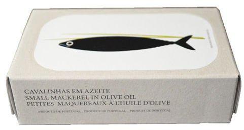 Portugalskie mini makrelki w oliwie z oliwek 125g Jose Gourmet