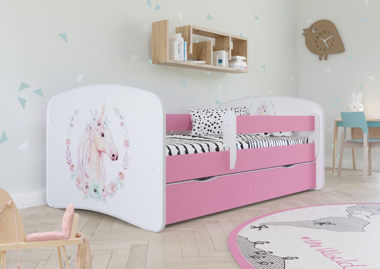 Łóżko dziecięce BABY DREAMS konik 140x70
