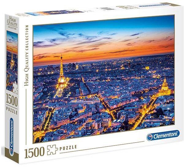 Clementoni -PUZZLE 1500EL CLM 31815 PARIS VIEW PUD 53542-uniw