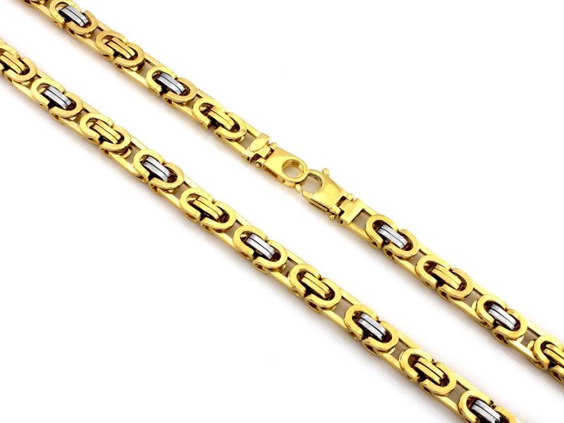 33.77g Złoty łańcuszek 585 splot królewski 60cm