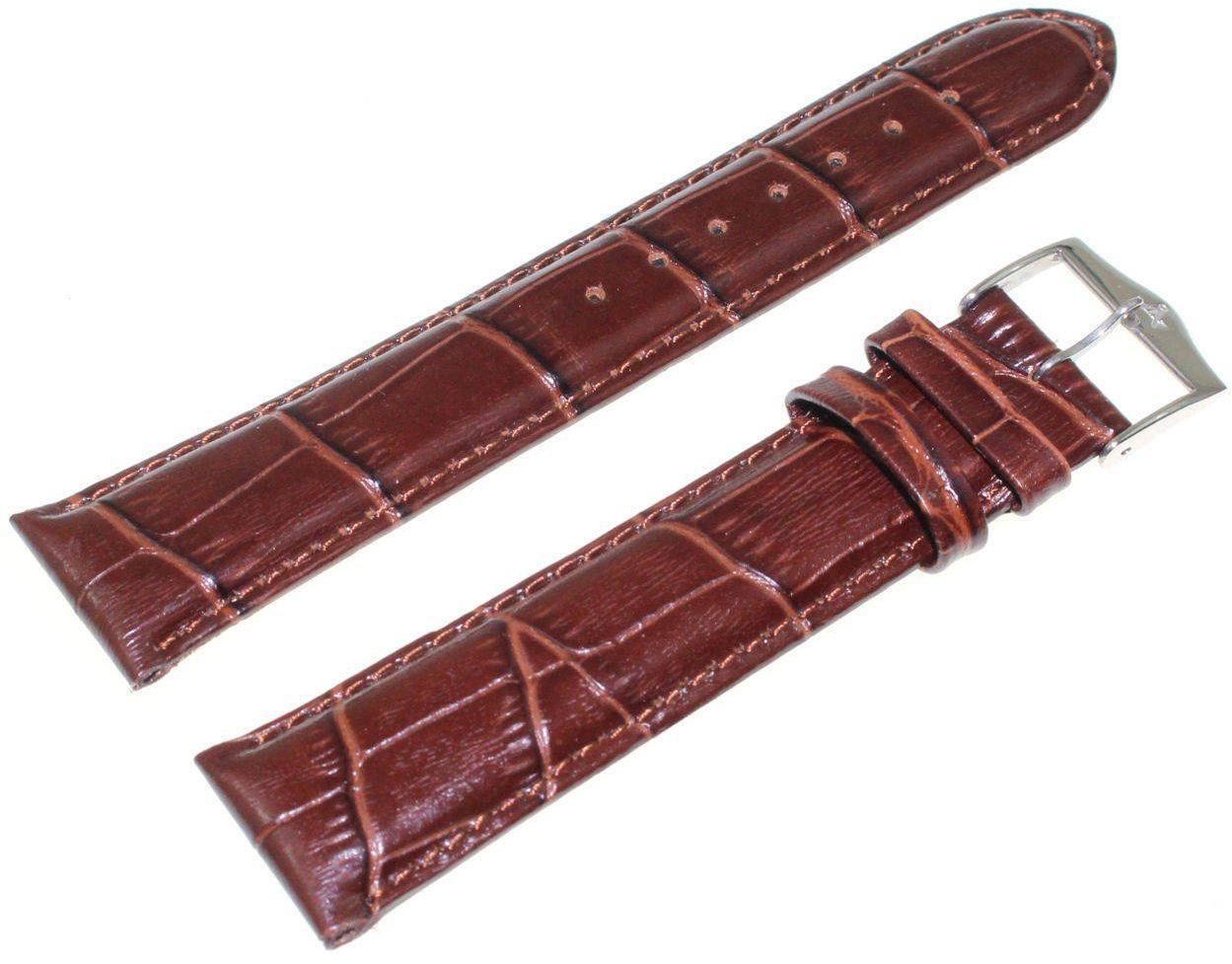 Pasek do zegarka Atlantic 20 mm brązowy