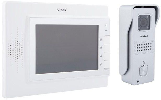 Wideodomofon vidos m320w/s6s - szybka dostawa lub możliwość odbioru w 39 miastach