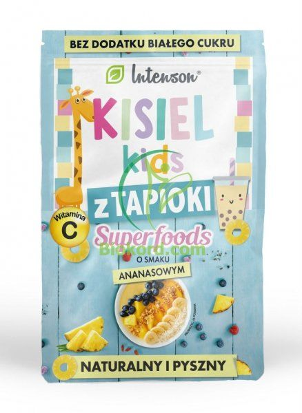 Kisiel Kids z Tapioki Ananasowy, Intenson, 30g