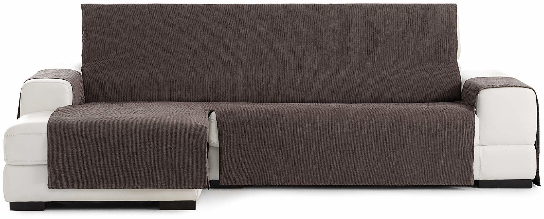 Eysa Loira Protect wodoodporna i oddychająca narzuta na sofę, 65% poliester, 35% bawełna, czekoladowa, 240 cm