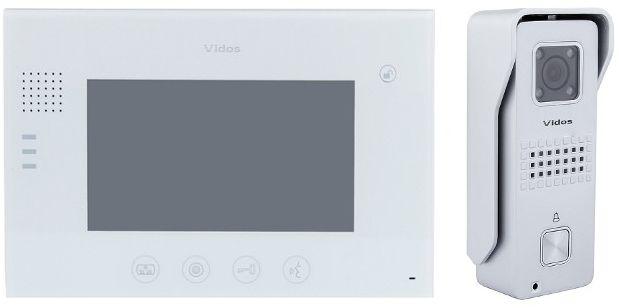 Wideodomofon vidos m670w/s6s - szybka dostawa lub możliwość odbioru w 39 miastach