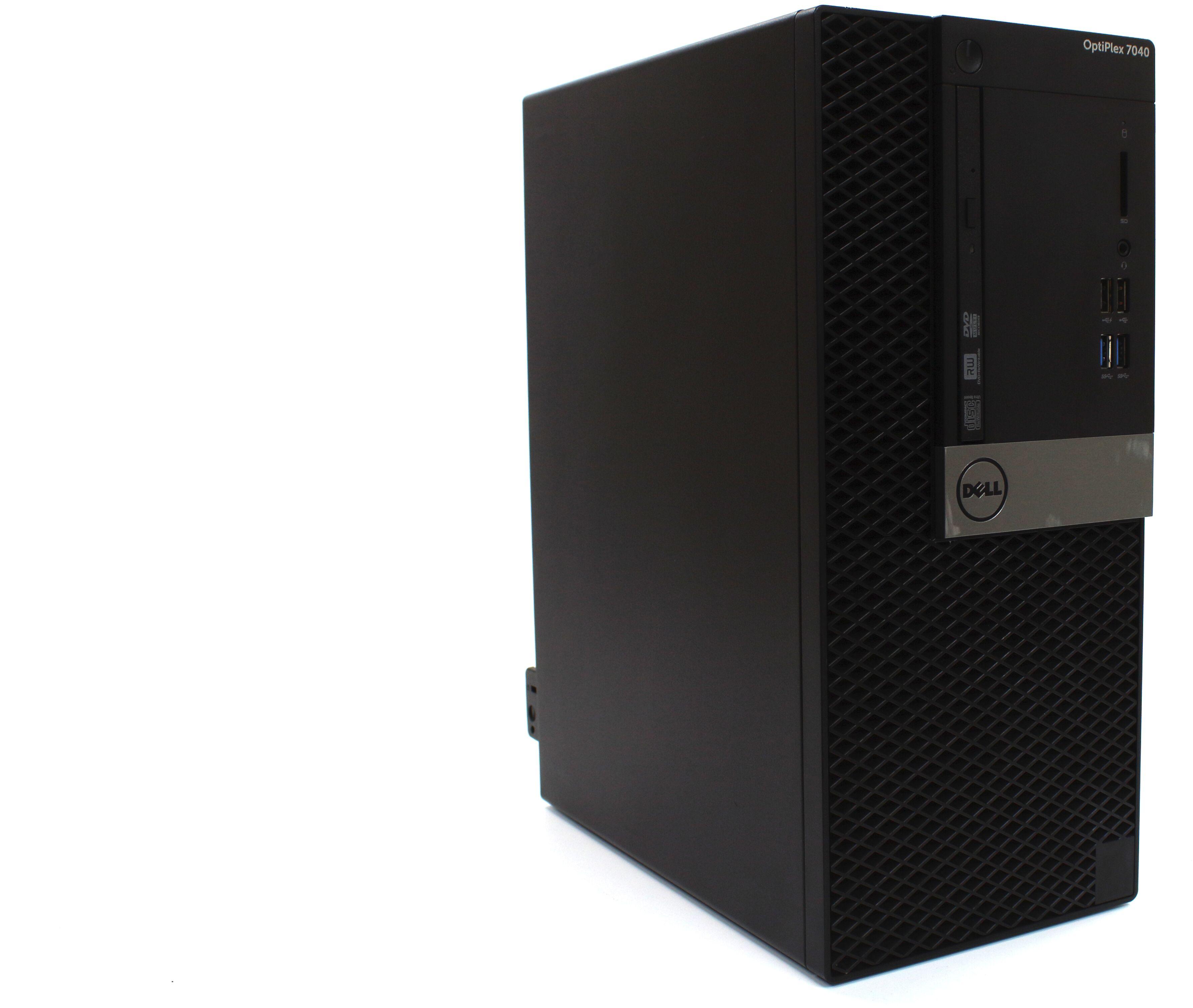 Komputer Dell OptiPlex 7040 Tower i5-6500 4x3,60GHz 16GB 240GB SSD + 500GB HDD DVD-RW Windows 10 Professional