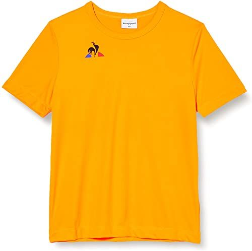 Le Coq Sportif N 1 Maillot Match Enfant Mc Fluo podkoszulek, pomarańczowy neon, 6 A