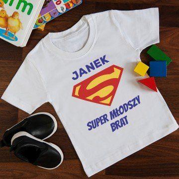 Superman - Koszulka z nadrukiem dla dziecka
