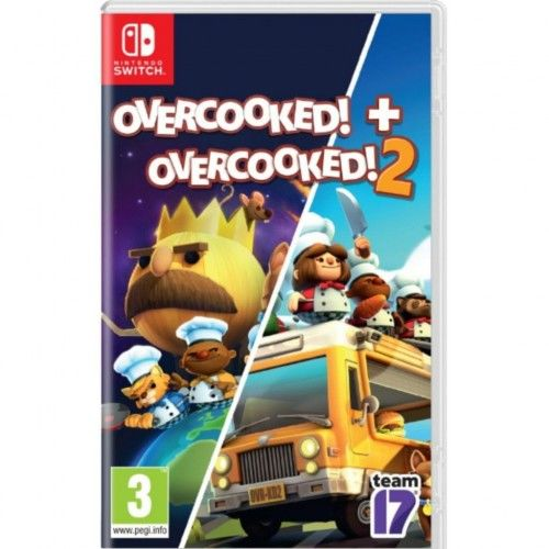 Overcooked! Special Edition+Overcooked!2 NS Nowa