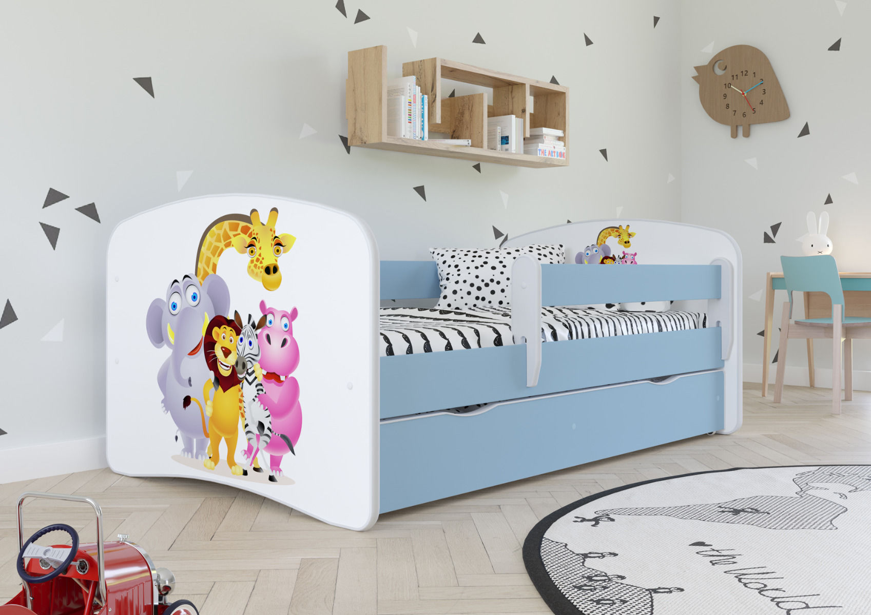 Łóżko dziecięce BABY DREAMS zoo 160x80