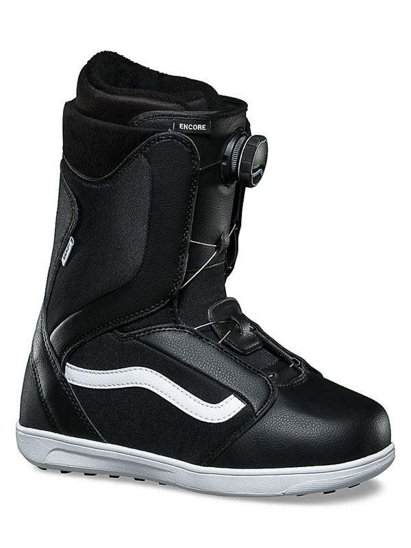 Vans ENCORE black/white damskie buty snowboardowe - 35EUR