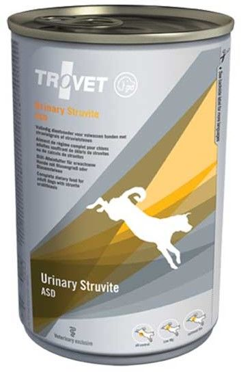 TROVET ASD Urinary Struvite (dla psa) 400g - puszka