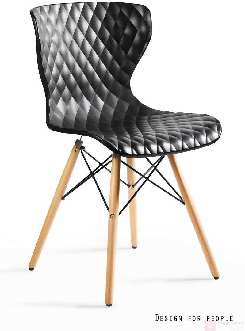 Krzesło OPEN Unique Czarny  RABAT na stronie!
