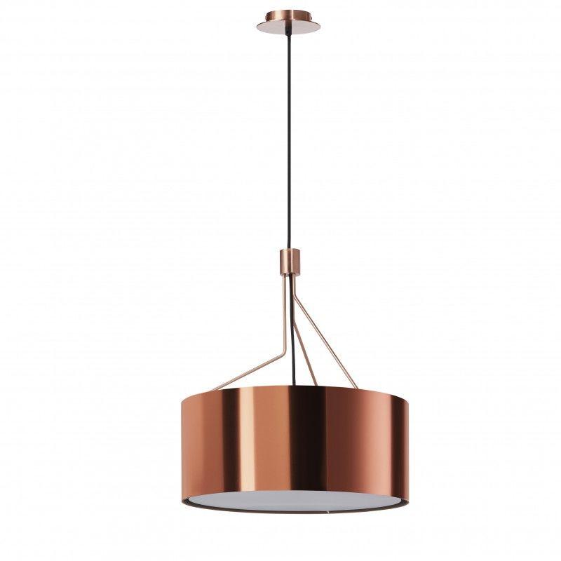 Lampa wisząca Diagonal 855D-G05X1A-37 nowoczesna oprawa w kolorze miedzi