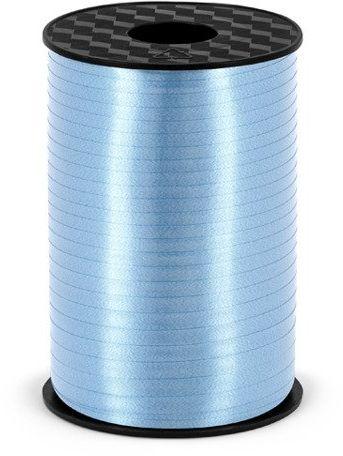 Wstążka plastikowa do balonów błękitna 5mm 225m PRP5-011
